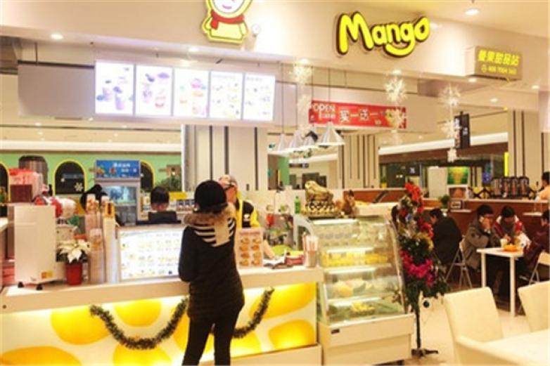 曼果甜品加盟