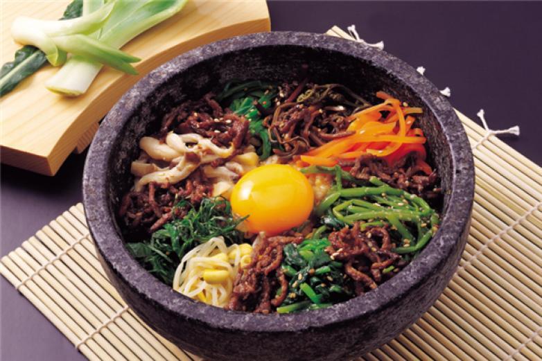 正宗韩式石锅拌饭加盟