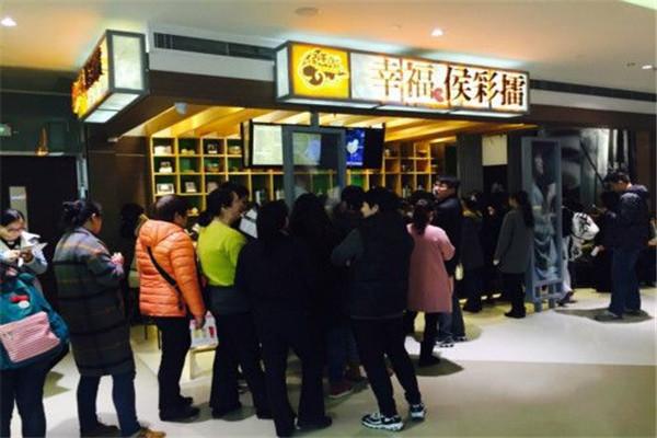 侯彩擂奶茶在市场中颇具名气