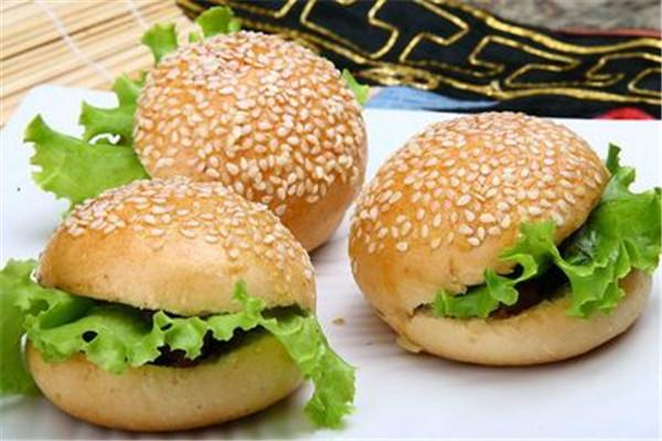 汉堡美食已畅销市场多年