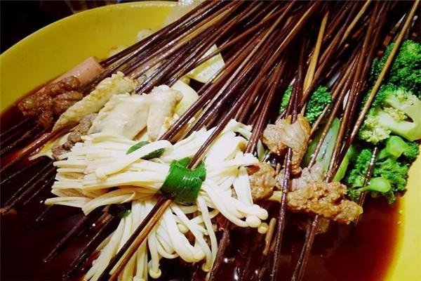 胡涂印象老串串选用优质食材为原料