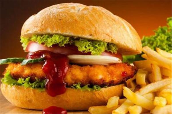 汉堡店每年推出新品上市
