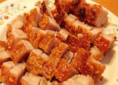 黄金脆皮烤肉