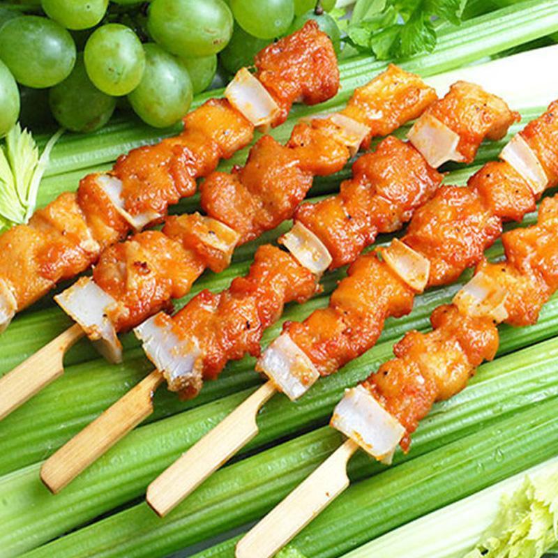 小吃烤肉串