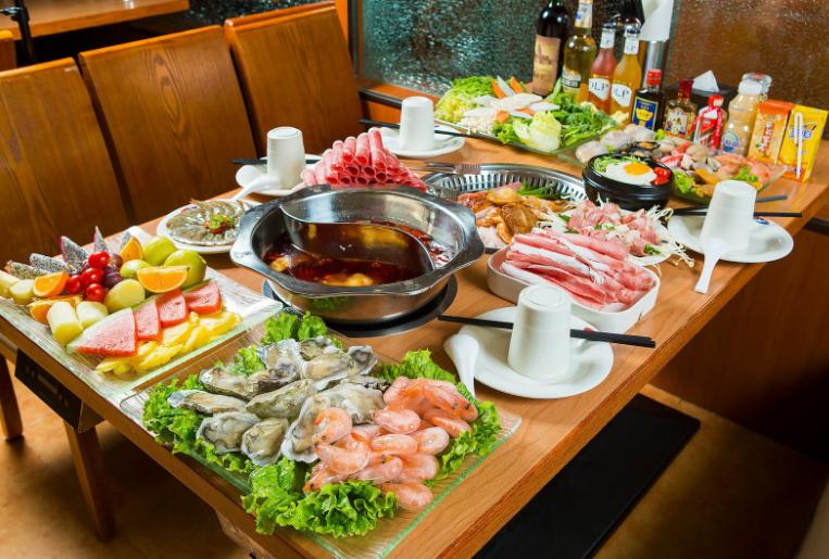 酒玖久自助火鍋烤肉