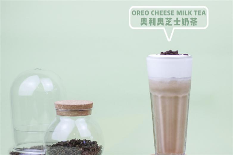 撞色奶茶加盟