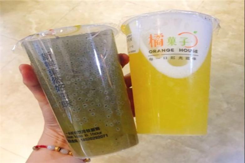 橘菓子奶茶加盟