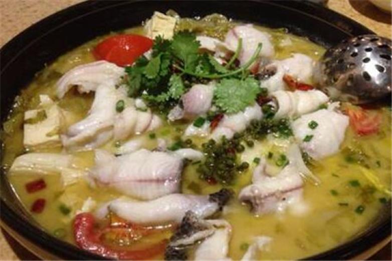 田哥酸菜鱼加盟