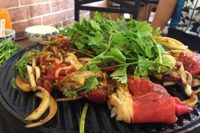 翠馨园炙子烤肉