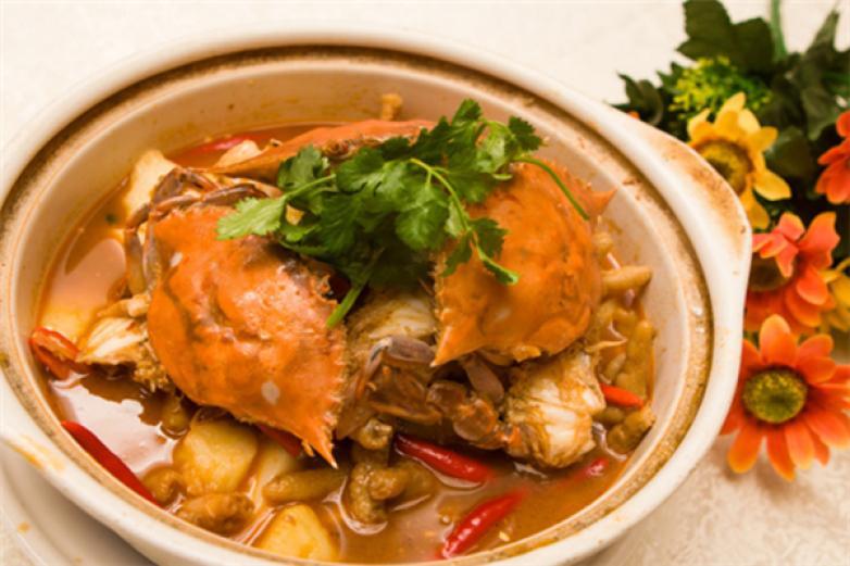 馋胖蟹肉煲加盟