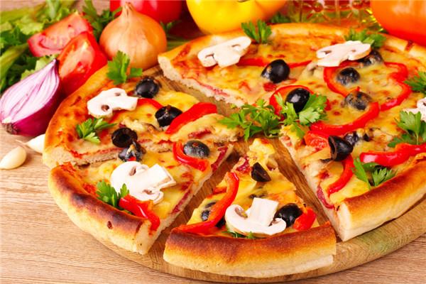 披萨是畅销市场的餐品