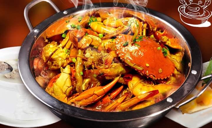 胖子肉蟹煲加盟费多少