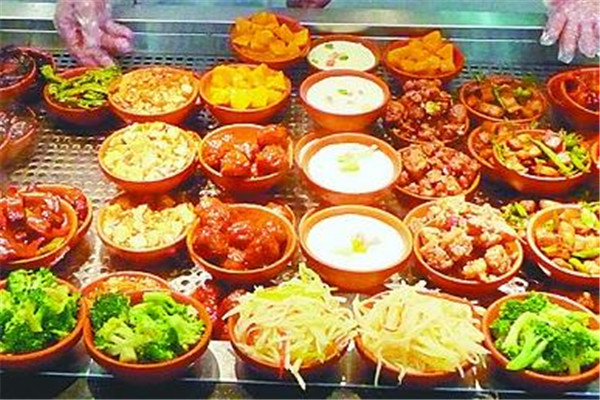 中式快餐项目开店成本低