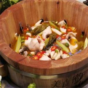 烤食府木桶魚