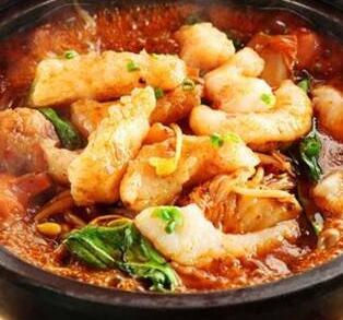 鱻魚石锅啵啵鱼