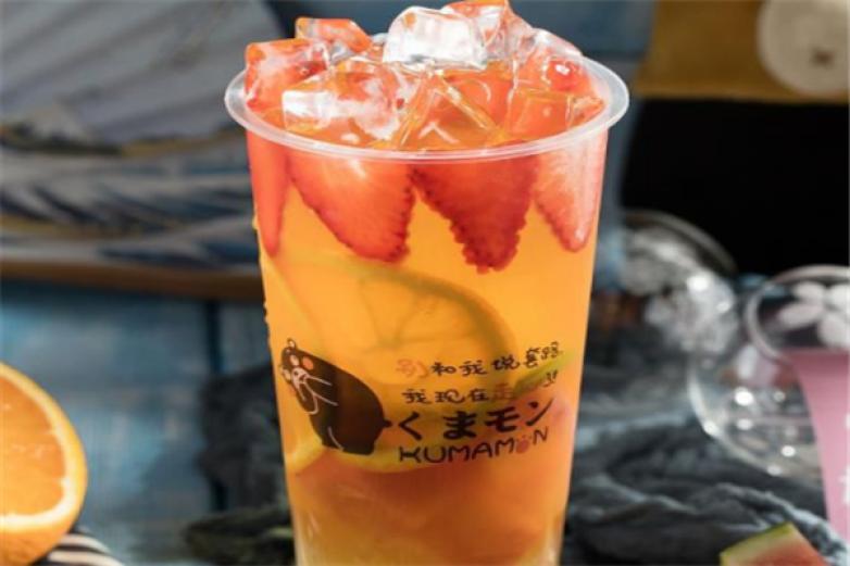 爱熊本熊奶茶加盟