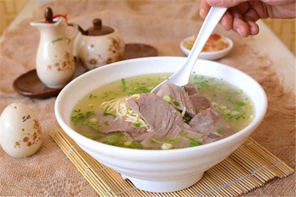 淮南牛肉汤加盟费要多少