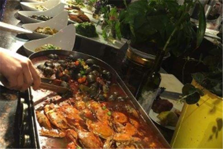 悦四海海鲜自助餐厅加盟