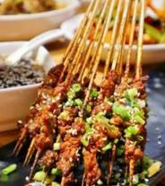 火焰山之竹签烤肉