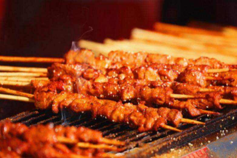 火焰山之竹签烤肉加盟