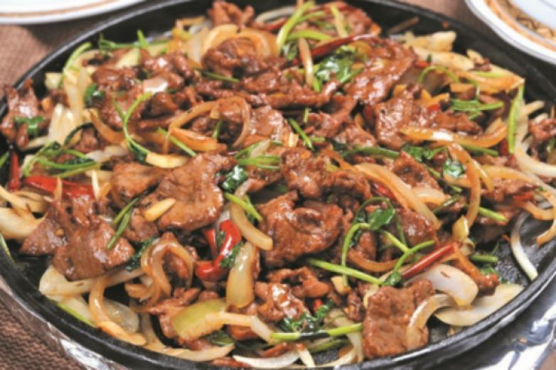 京晟坊东北石板烤肉加盟