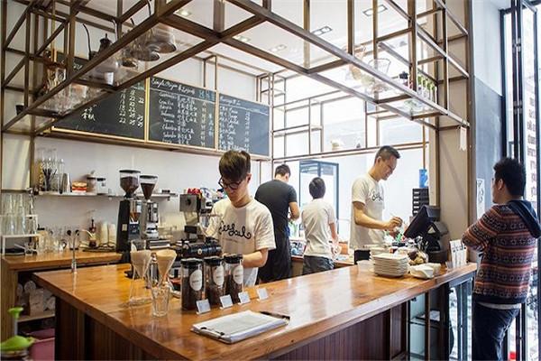 咖啡店项目正在蓬勃发展着