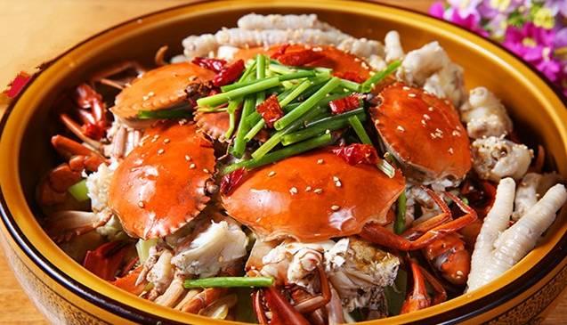 胖子肉蟹煲产品