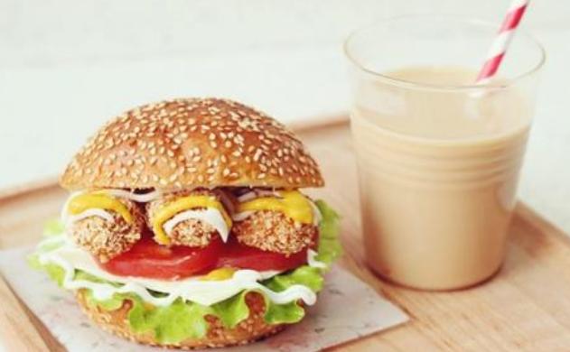 开奶茶汉堡店要多少钱