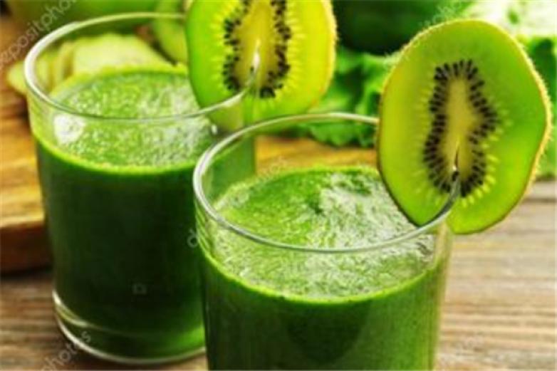 绿色水果果汁加盟