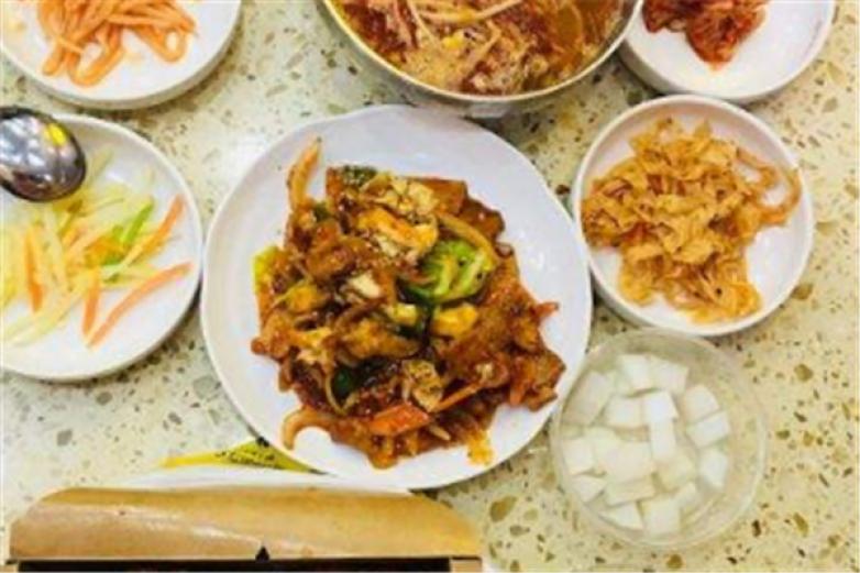 正宗韩式料理加盟