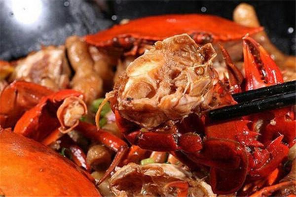 多嘴肉蟹煲加盟流程