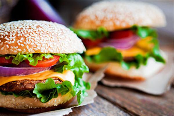 汉堡是大众常吃的餐品