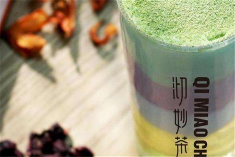 沏妙茶饮品加盟
