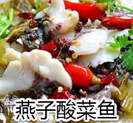 燕子酸菜鱼