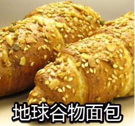 地球谷物面包