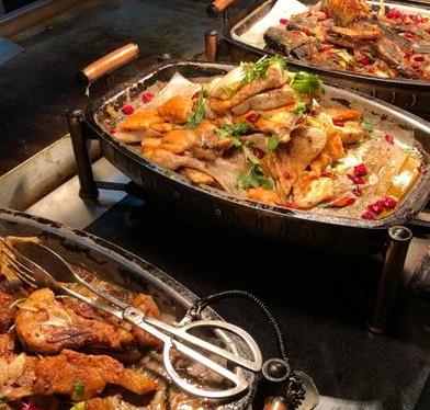 金广阔自助海鲜烤肉