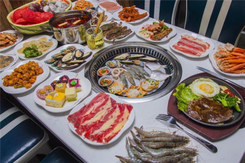 金广阔自助海鲜烤肉加盟