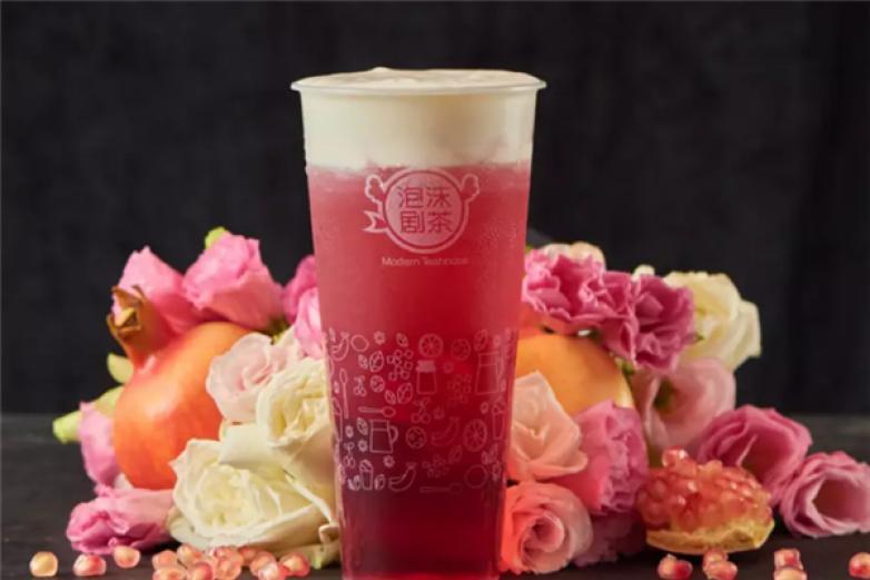 泡沫剧茶饮品加盟