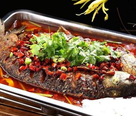 尚鱼果碳烤鱼
