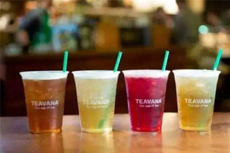 teavana茶吧饮品加盟