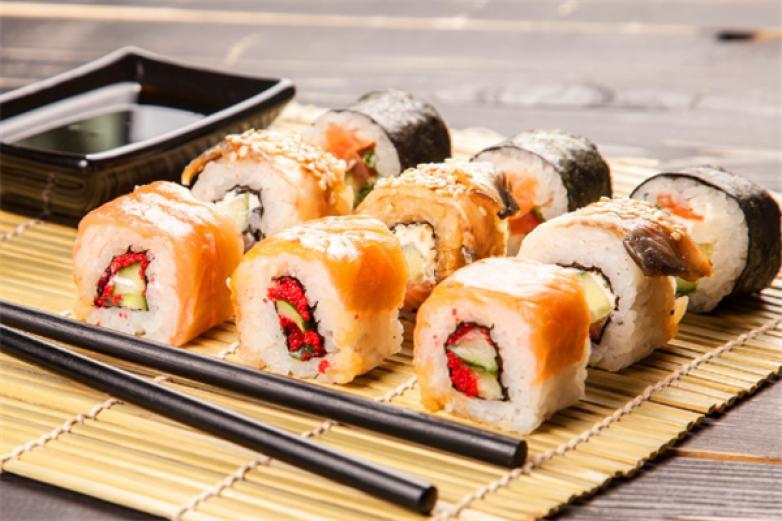 大板の壽司