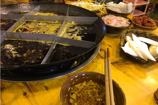传奇鲜菜老火锅