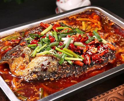 蜀湘園烤魚