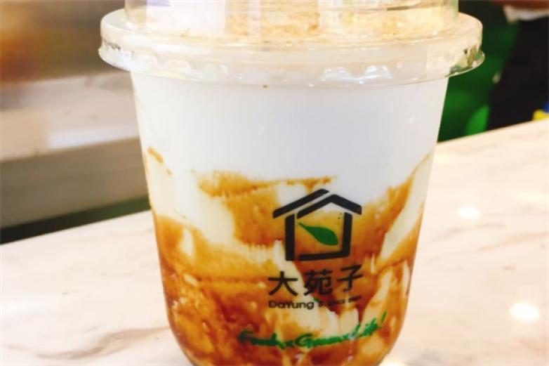 大苑子奶茶饮品加盟