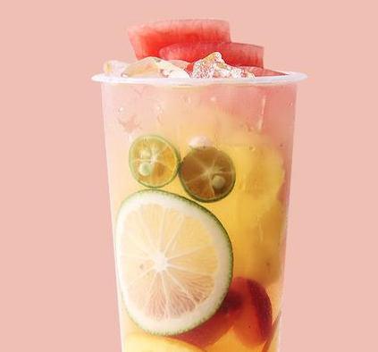 ft水果茶饮品