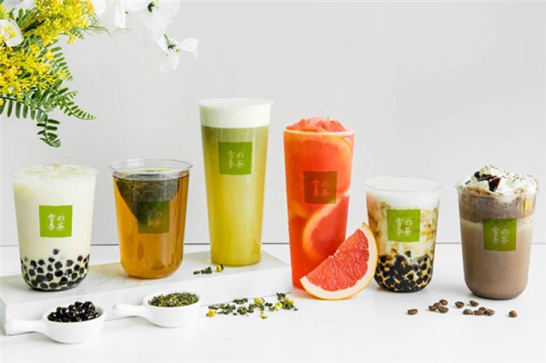 雪季的茶饮品加盟