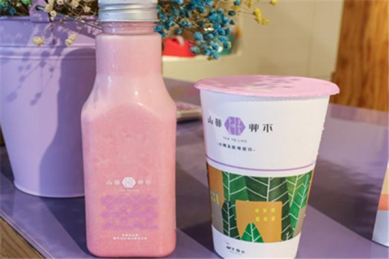 山林艸木台湾茶饮加盟