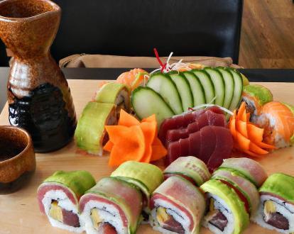 锦寿司の创意料理