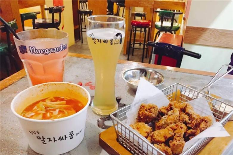 韩式炸鸡啤酒加盟