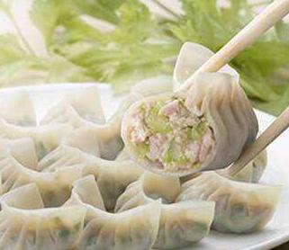 上上鲜自助水饺虾仁水饺